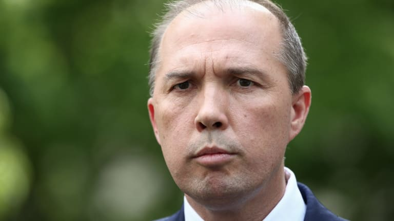 Court rules dentention illegal: Immigration Minister Peter Dutton.