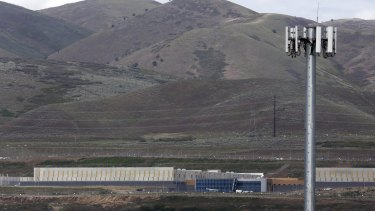 A National Security Agency data gathering facility in Bluffdale, Utah.