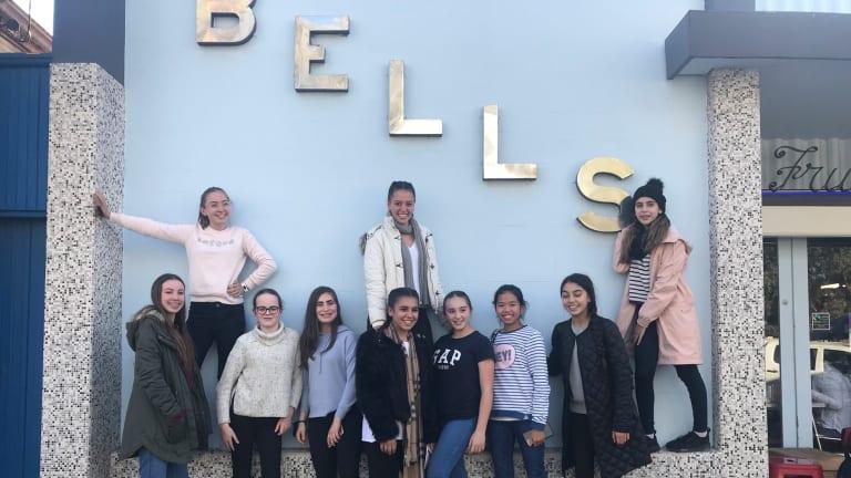 At Bells Milk Bar, a south Broken Hill institution.