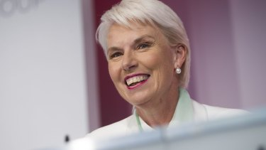 Gail Kelly - once listed as the eighth most powerful woman in the world - had good, not great, school results.