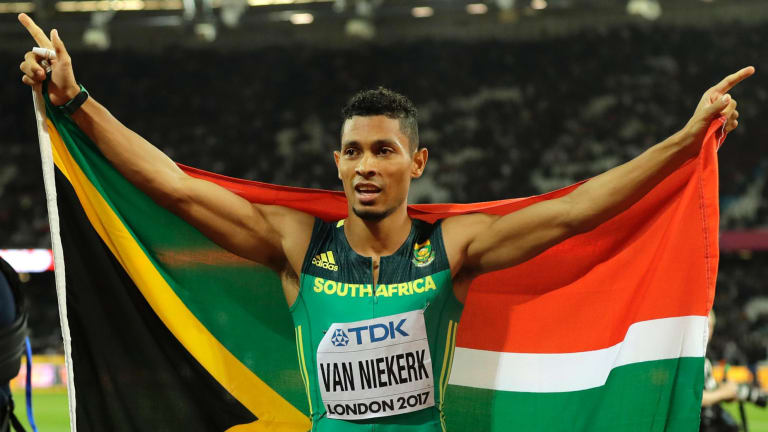 South Africa's Wayde van Niekerk will miss next year's Commonwealth Games due to a knee injury.