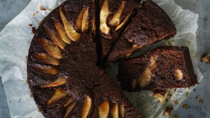 Helen Goh's pear cake with rye and ginger