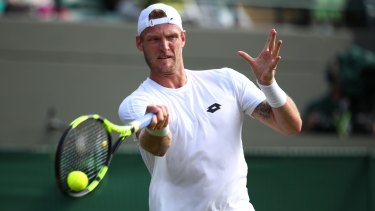 Unselectable: Sam Groth's drop in the rankings has left his Rio hopes in tatters.