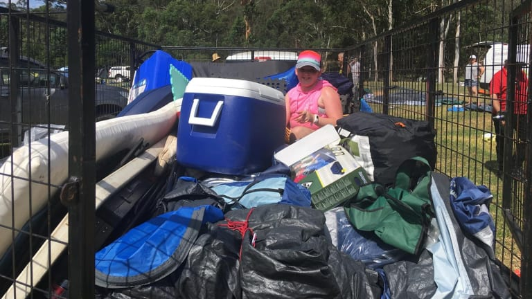 Hawkesbury Helping Hands volunteers collected car-loads of equipment after the festival.