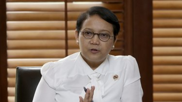 Foreign Minister Retno Marsudi says Indonesia lacks the capacity to shelter refugees long term.