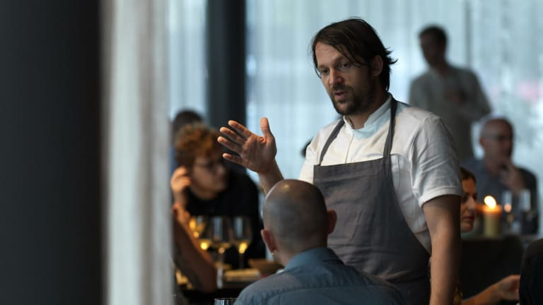 Noma chef Rene Redzepi brought his restaurant for a residency in Australia as part of the Restaurant Australia program.