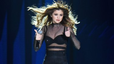 Smooth operation: Selena Gomez performs on the Revival Tour.