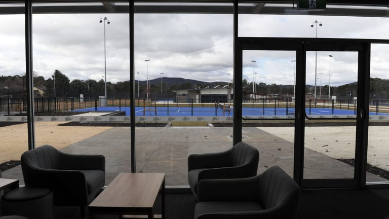 The Canberra Tennis Centre has 32 courts.