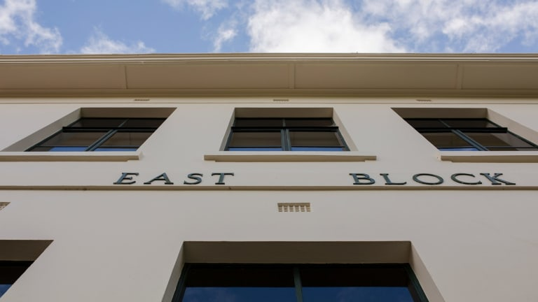 The Parliamentary Triangle's East and West block will be sold.