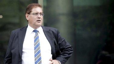 David John Ellery, former company secretary for Securency, in 2012.
