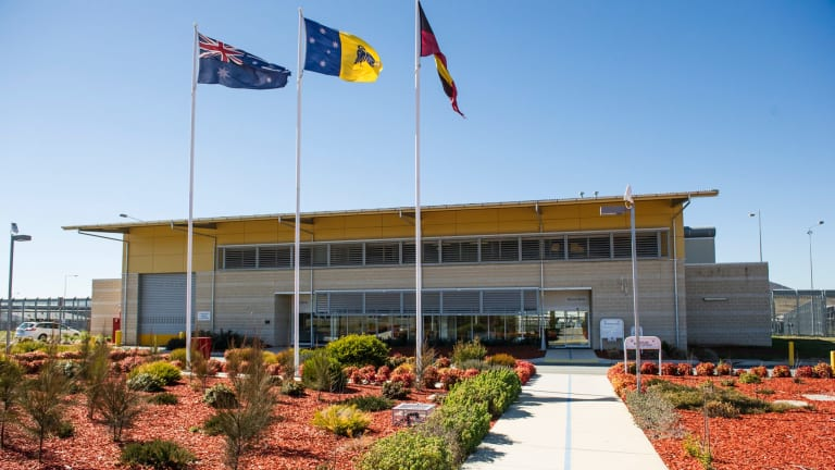 Canberra's prison: Has not lived up to the vision, says  Jon Stanhope.