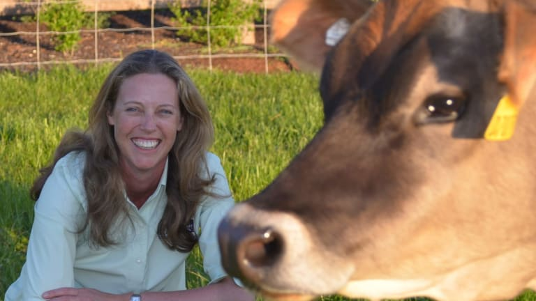 Dr Kate Clarke, rural veterinarian, mother and Homeward Bound 2018 participant.
