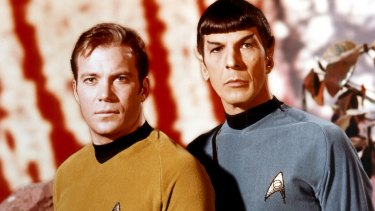 The original <i>Star Trek</i> pairing of William Shatner with Leonard Nimoy
