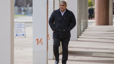 """Former CFMEU organiser Halafihi """"Fihi"""" Kivalu allegedly told a contractor """"I will just make up 12 names. You need to pay for 12 employee memberships."""""""