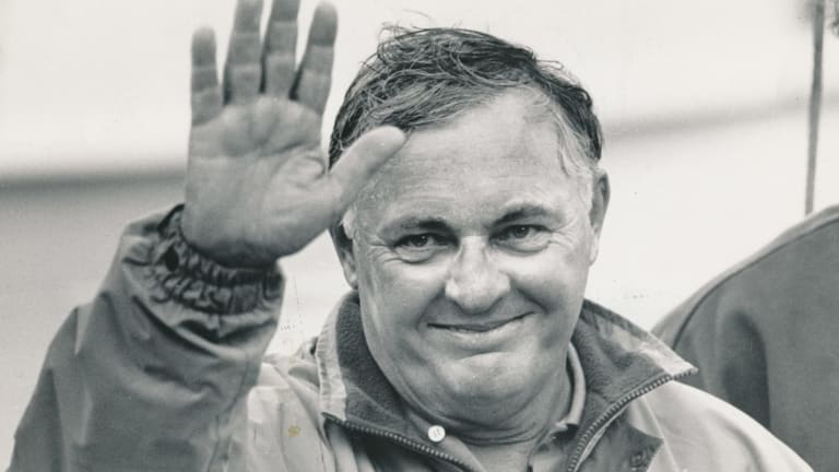 Alan Bond died late Friday morning at Fiona Stanley Hospital in Perth