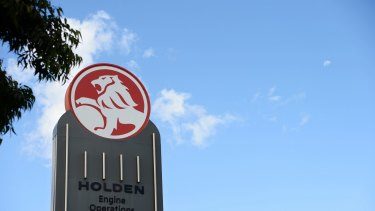 The last locally built cars roll off Holden assembly lines in October.