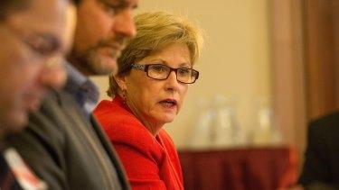 Former Greens leader Christine Milne.