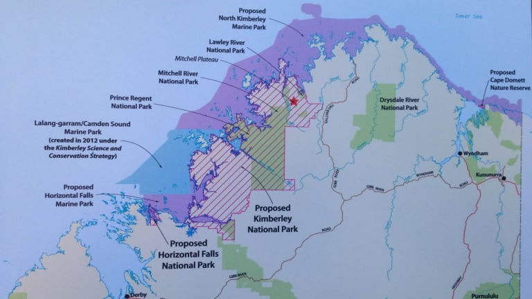 The new park in Western Australia's Kimberley.