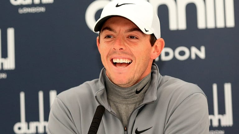 Rory McIlroy has largely surpassed Tiger Woods as the world's most sought-after golfing talent.