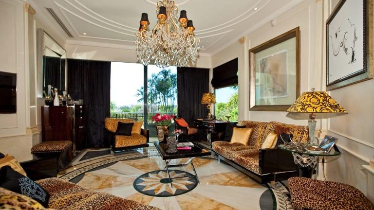 Inside Geoffrey Edelsten's former Gold Coast Palazzo Versace apartment.