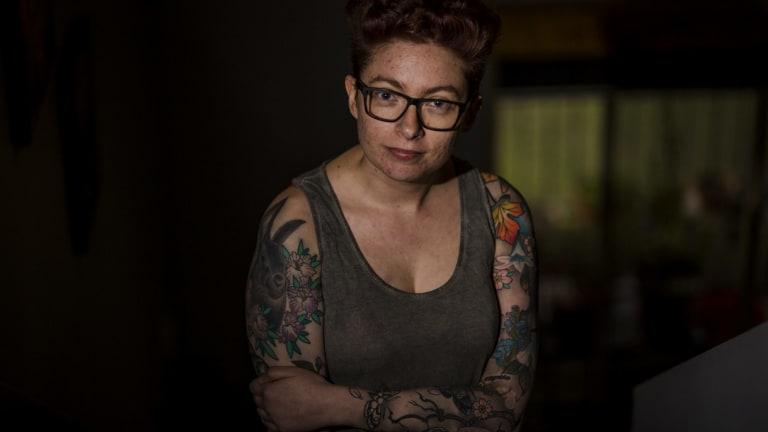 Elizabeth Caplice pictured last July.