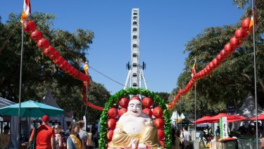 This is the 21st Buddha Birth Day Festival to be held at South Bank.