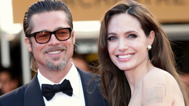 Family way: Brad Pitt and Angelina Jolie are reportedly set to adopt a child from Syria.