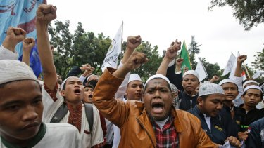 Ahok's remarks about opposition to his candidacy citing the Koran have triggered furious protests among some sections of Indonesia's Muslim community.