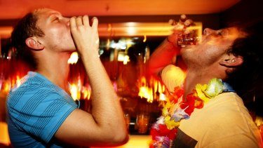 Shots would be banned after midnight under a Labor government plan.