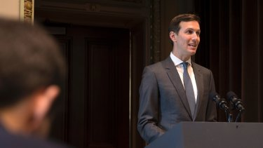 Jared Kushner: courted by Russian officials as a fixed point in the otherwise volatile Trump team.