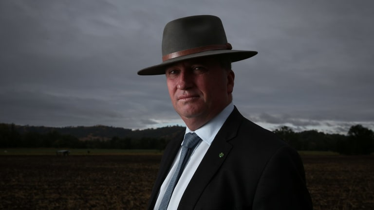 Deputy Prime Minister Barnaby Joyce was a driving force behind the pesticides authority's forced move to Armidale.