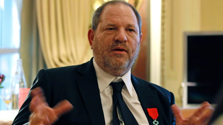 Harvey Weinstein, the man whose actions have shaped so much of the year in film.