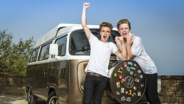 Joe Sugg and Caspar Lee: small-town boys to YouTube stars