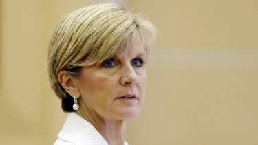 Foreign Affairs Minister Julie Bishop (pictured) and Communications Minister Malcolm Turnbull both criticised the way Mr Abbott conducted the debate.