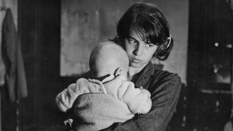 Nadine Nortier stars in Robert Bresson's 1967 film Mouchette.