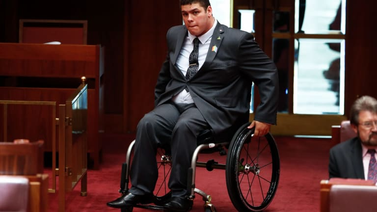 Greens Senator Jordon Steele-John says there should be a target for public service employees with a disability.
