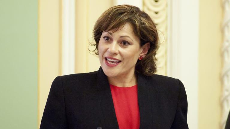 Jackie Trad is set to become Annastacia Palaszczuk's deputy.
