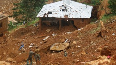 "Survivors of deadly mudslides in Sierra Leone's capital vividly described the disaster as President Ernest Bai Koroma says the nation is in a ""state of grief""."