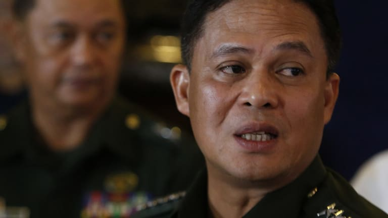 Philippine Armed Forces chief General Gregorio Catapang.