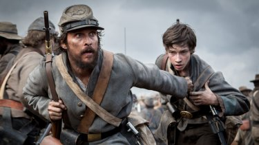 Deserter: McConaughey leads a band of freedom fighters in the historical drama <i>Free State of Jones</i>.