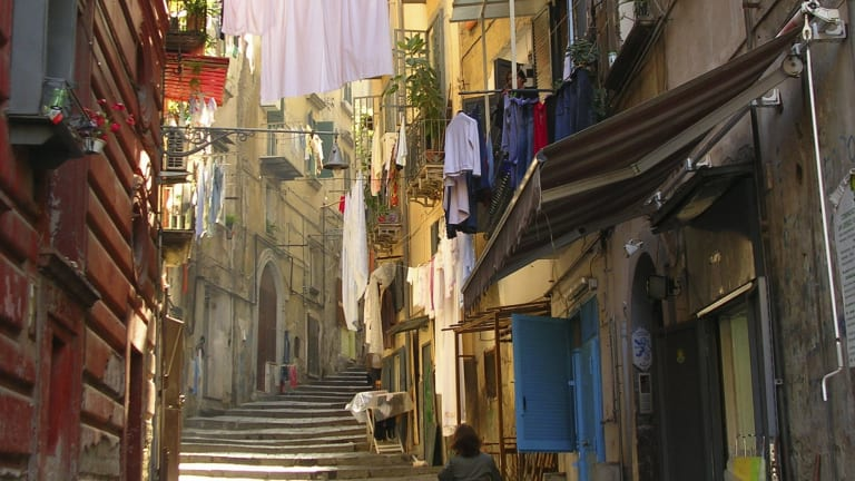 Naples and its people and corruption are like characters in Elena Ferrante's <i>The Story of the Lost Child</i>.