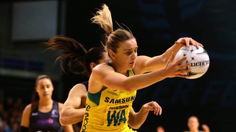 Wing attack Liz Watson is ''far and away'' the best mid-courter in world netball.