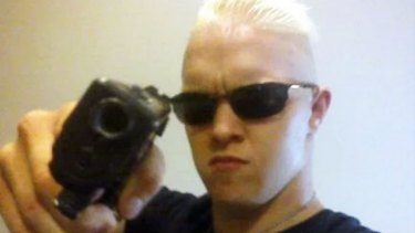 Michael James Holt, who pleaded guilty to making and possessing prohibited firearms, expressed a desire to shoot up a shopping centre.