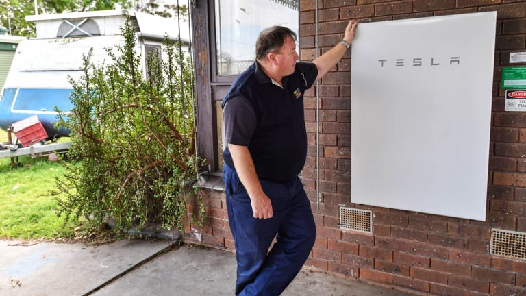 """""""With two teenage children, the power bills were heading the wrong way. My wife is a primary school teacher and [when] off on school holidays the bill was growing then too,"""" Andrew says."""
