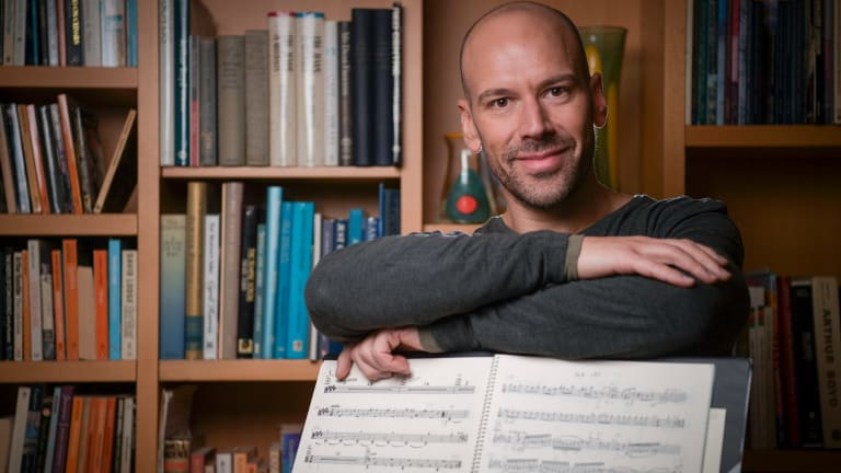 Opera singer Adrian Tamburini sees next Sunday's concert as a living monument to humanity.