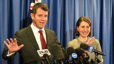 NSW Premier Mike Baird and Treasurer Gladys Berejiklian want to privatise the land titles registry.