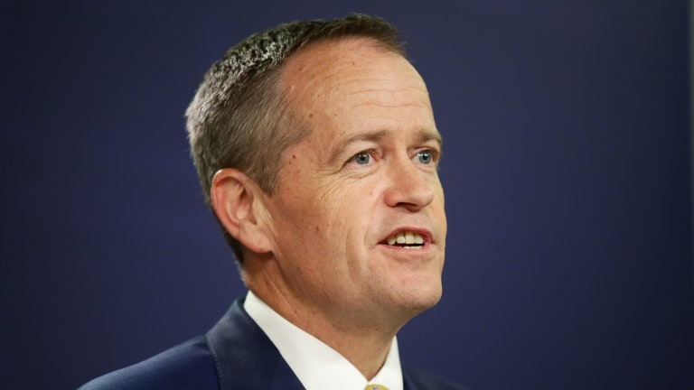 The stock of Labor leader Bill Shorten has lifted but he is still running behind in the polls.