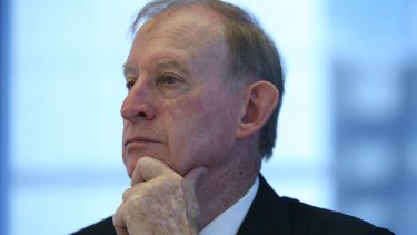 David Murray has pondered the future of the financial system.