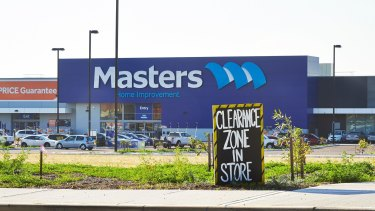 Masters' battle with Bunnings has put pressure on the rest of the Woolworths group.