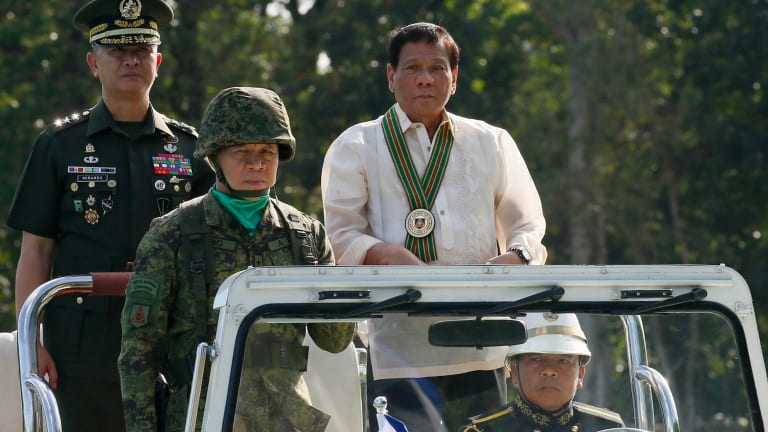 Philippine President Rodrigo Duterte now wants his armed forces to build permanent facilities on islands in the South China Sea.